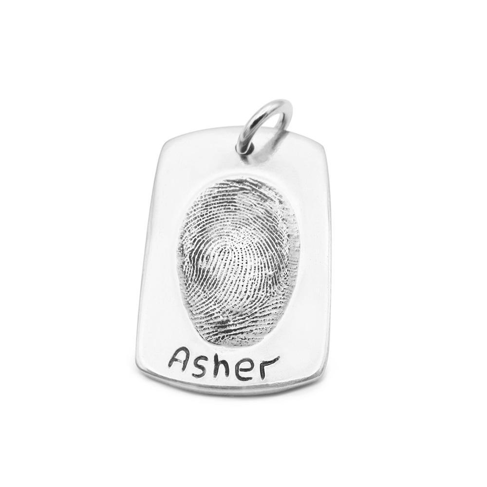 Original Fingerprint Pendant-Smallprint Franchising Ltd
