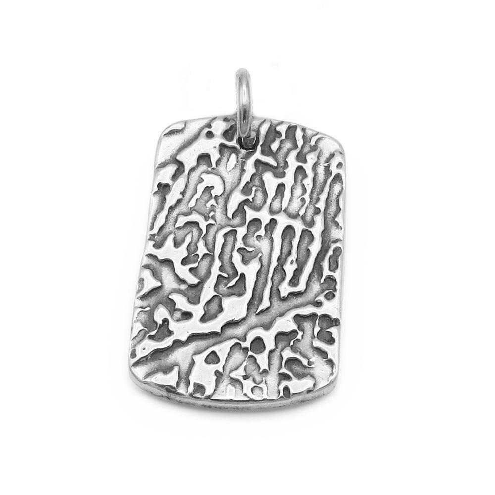 """Tender Touch"" Fingerprint Pendant-Smallprint Franchising Ltd"