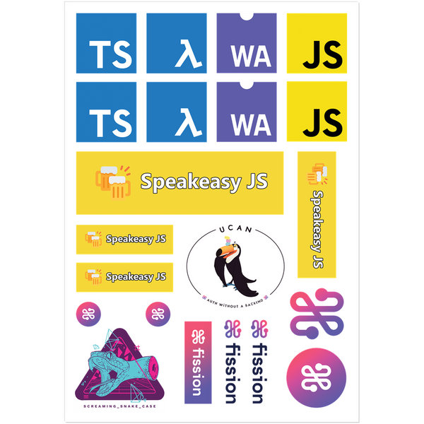 SpeakeasyJS Jan 2021 - JS Special Edition Sticker Pack