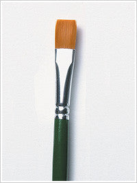 1058 ONE STROKE #12 FLAT BRUSH-PKG OF 3