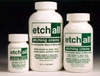 E11316C ETCHALL GLASS ETCHING CREME-16 fl. oz. (1PT) (473ml) CASE OF 12