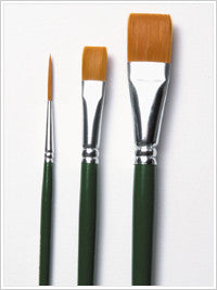 1171 ONE STROKE BRUSH SET-PKG OF 3