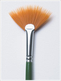 1196 ONE STROKE FAN BRUSH-PKG OF 3