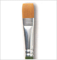 1204 ONE STROKE BRUSH #16 FLAT-PKG 0F 3