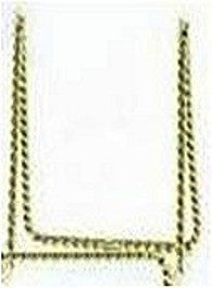 "12427 PLAID ART MATERIALS-U SHAPED 4"" BRASS EASEL-PKG OF 3"