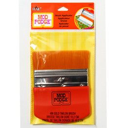 "12917 PLAID MOD PODGE DECOUPAGE TOOLS-4"" INCH BRUSH APPLICATOR-PKG OF 3"