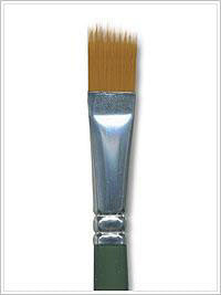 "1293 FOLKART 1/2"" RAKE BRUSH-PKG OF 3"
