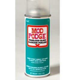 1449 PLAID MOD PODGE DECOUPAGE-PEARLIZED SPRAY SEALER 11 OZ.-PKG OF 3