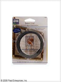 17041 GALLERY GLASS REDI LEAD STRIPS-36 LINEAL FEET EACH-PKG OF 2