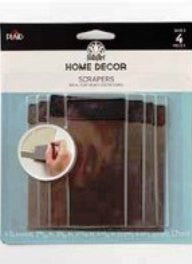 34913 FOLKART HOME DECOR SCRAPERS-PKG OF 3