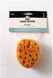 34919 FOLKART HOME DECOR SPONGE-PKG OF 2