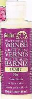 791 FOLKART ACRYLIC PAINT WATERBASE VARNISH 4 OZ.-PKG OF 6
