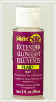 947N FOLKART ACRYLIC PAINT EXTENDER MEDIUM 2 OZ.-PKG OF 6