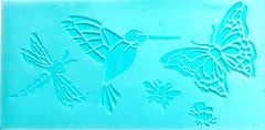 956270012 DELTA STENCIL BUTTERFLIES & MORE -PKG OF 3