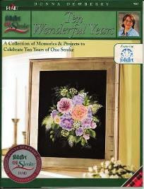 9887 ONE STROKE DONNA DEWBERRY BOOK-TEN WONDERFUL YEARS