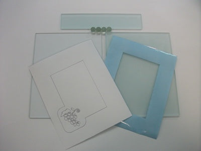 A1008 CLEAR GLASS FOR 2-D PROJECT- KIT