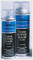CS200306 PLAID CLEAR ACRYLIC SEALER MATTE 12 OZ.-PKG OF 12