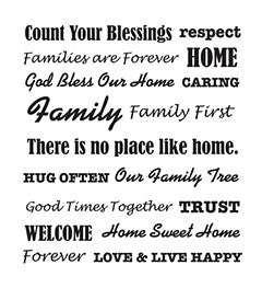 30740 PLAID FOLKART PAINTING STENCILS-WORDS/PHRASES-FAMILY-PKG OF 3
