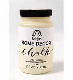 34152 FOLKART HOME DÉCOR CHALK PAINT BAVARIAN 8 OZ.-PKG OF 3