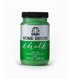 34157 FOLKART HOME DECOR CHALK PAINT IRISH 8 OZ.-PKG OF 3