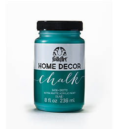 34158 FOLKART HOME DECOR CHALK PAINT GROTTO 8 OZ.-PKG OF 3