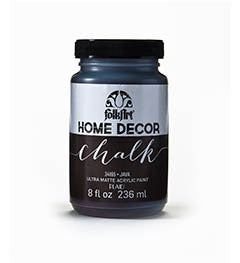 34165 FOLKART HOME DECOR CHALK PAINT JAVA 8 OZ.-PKG OF 3