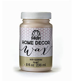 34170 FOLKART HOME DECOR CHALK PAINT WAX CLEAR 8 OZ.-PKG OF 3
