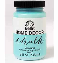 34803 FOLKART HOME DECOR CHALK PAINT PATINA 8 OZ.-PKG OF 3