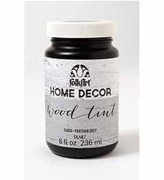 34856 FOLKART HOME DÉCOR WOOD TINT GREY  8 OZ.-PKG OF 3