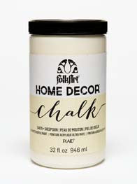 34879 FOLKART HOME DÉCOR CHALK PAINT SHEEPSKIN 32 OZ.-PKG OF 3