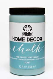 34880 FOLKART HOME DÉCOR CHALK PAINT CASCADE 32 OZ.-PKG OF 3