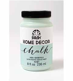 34924 FOLKART HOME DECOR CHALK PAINT SEASIDE VILLAGE 8 OZ.-PKG OF 3