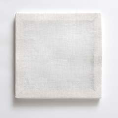 "49014 BUCILLA READY TO STITCH BLANKS-WHITE 6"" X 6""-PKG OF 3"