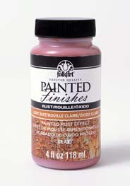 5102 FOLKART PAINTED FINISHES 4 OZ. KIT-LIGHT RUST-PKG OF 3