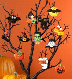 86430 BUCILLA SEASONAL-FELT-ORNAMENT KITS-HALLOWEEN