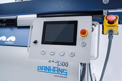 Panhans 245/200 2 Axis  Programable Tilting Spindle Moulder (Option 4 Axis) 7.5KW Inverter Drive