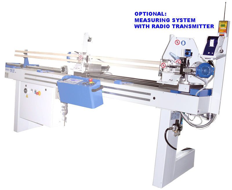 Omga TRF Series double mitre machine for glazing bead