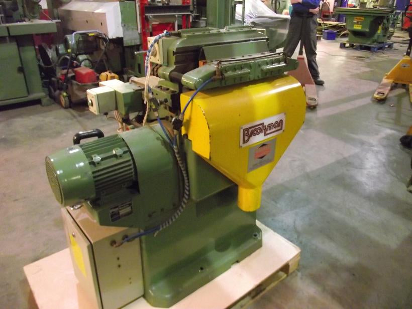 Used Automatic 15 Pin Dovetail Machine