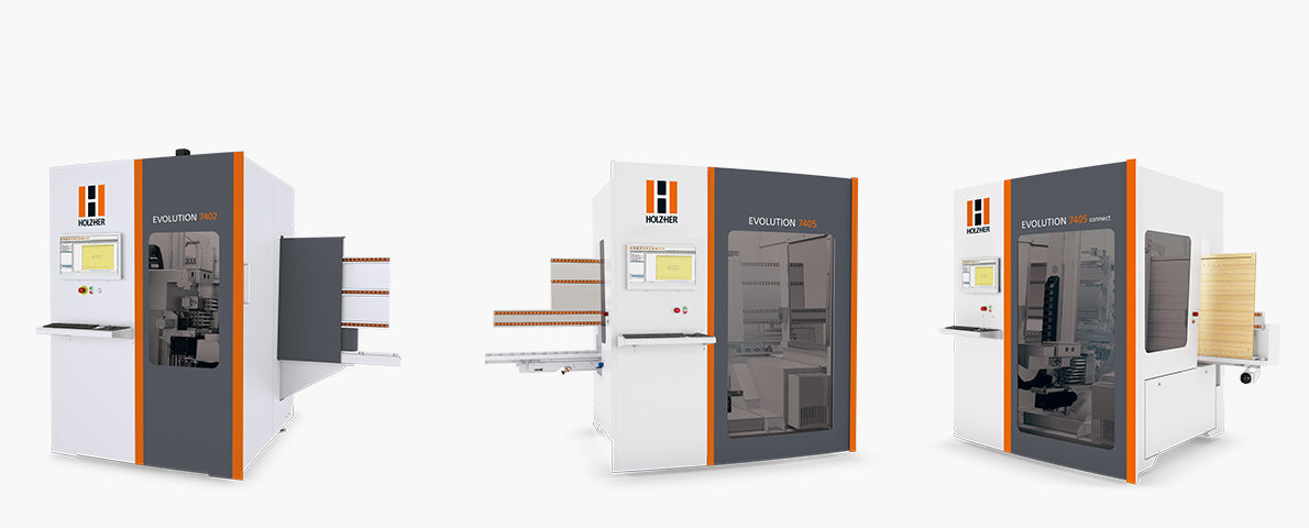 Holzher Evolution Vertical Machining