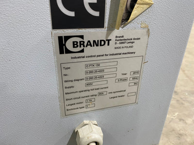 Brandt KTD51 Edgebander and FTK130 Trimmer