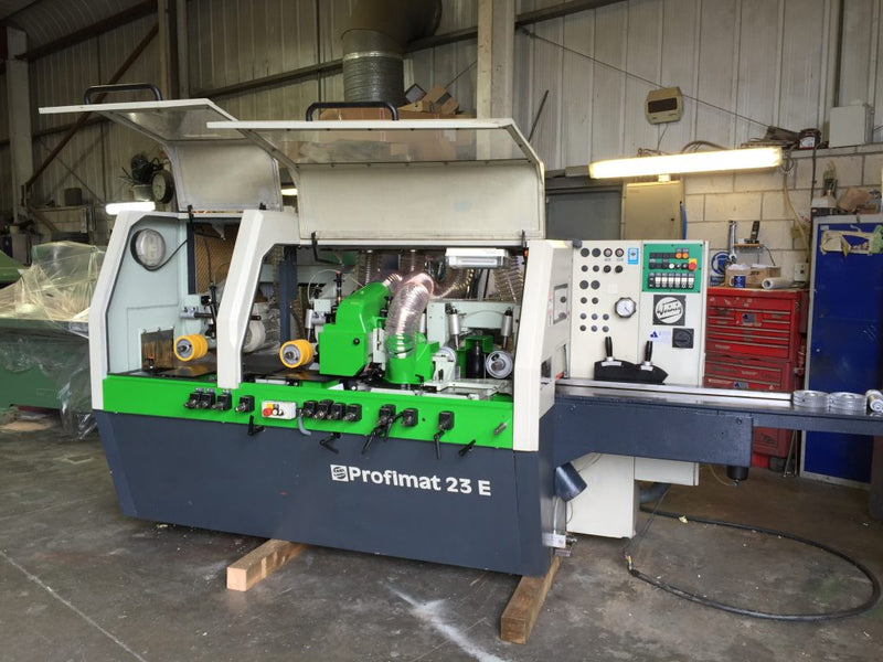 Weinig and planer moulder refurb