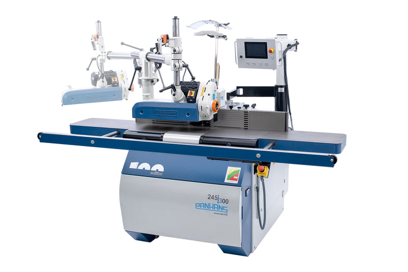Panhans 245/100 2 Axis  Programable Tilting Spindle Moulder (Option 4 Axis)