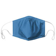 Load image into Gallery viewer, Royal Blue Colour-block Face Mask With Filter Pocket