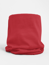 Load image into Gallery viewer, Red Colour-block tubular Bandana Neck Warmer Face Covering