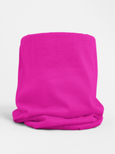 Load image into Gallery viewer, Pink Neon Colour-block tubular Bandana Neck Warmer Face Covering