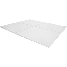 "50"" x 60"" One-Slope CURBLESS Linear Drain Shower Tray"