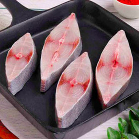 Black Pomfret Sliced, 1 Kg