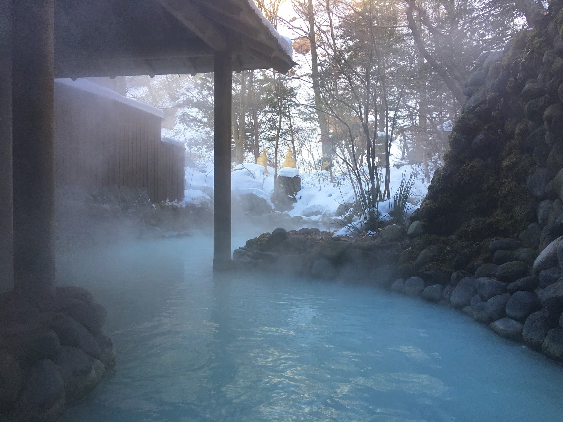 Onsen water: what effects does it have on the skin?