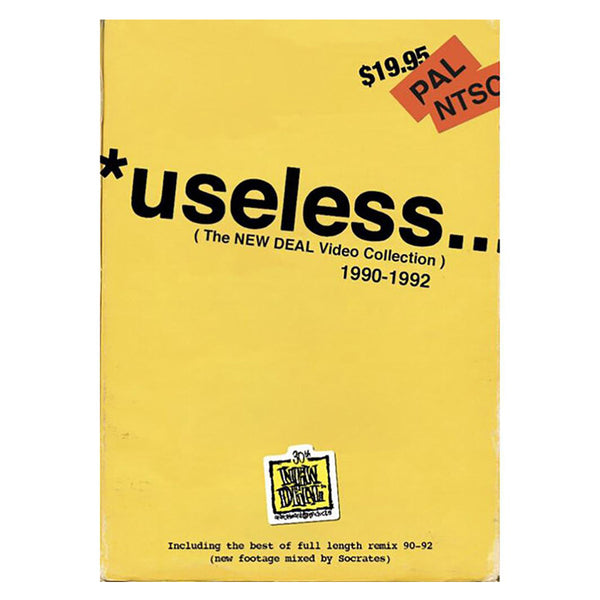 New Deal *useless 1990-1992 DVD