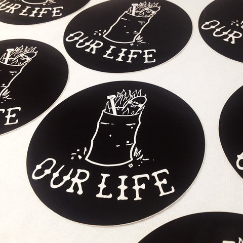 Our Life Socks Sticker Pack